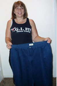 Testimonial Picture of Denise O. – At Age 49, Loses 60 lbs. and 60 Inches (2)