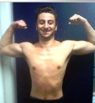 Testimonial Picture of Ross H. – Gained 20 lbs. of Muscle (1)