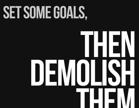 Create A Small Goal First, Then Achieve It