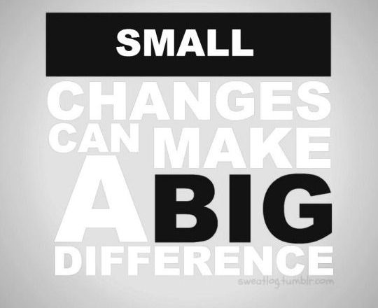Make Small Changes And Start To Feel Amazing