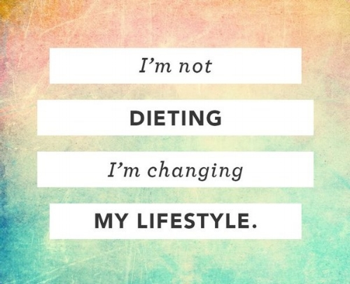 Dieting Vs Lifestyle
